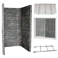 Basement window well covers diy Grates Diy Basement Finishing With The Stonewall Egress Kit Steel Window Well Window Well Egress Windows Diy Window Well Kit Basement Finishing Done Up To Code