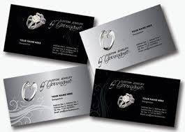 4 Elegant Jewelry Business Cards Psd Files Free Download Psd Files
