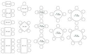 what size table seats 8 what size round table seats 8 round table size for 6