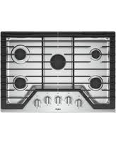 whirlpool wcg97us0hs 30 inch gas cooktop with griddle ez2liftu201e cooktop griddle39