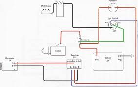 wd45 12v gen wiring diagram yesterday's tractors Need Help Wiring Lights On 6 Volt Yesterdays Tractors wd45 12v gen wiring diagram