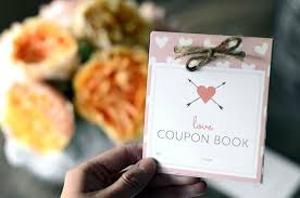 Relationship Coupon Book 30 Printable Love Coupons That Will Make Their Heart Melt