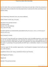 11 Thank You Letter For Internship Completion Farmer Resume