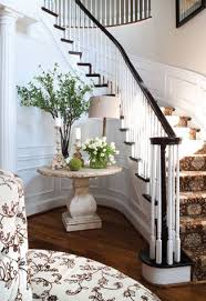 entrance way furniture. pretty table but i love the idea of a banquette in large entrance way furniture