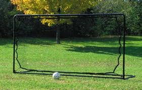 Soccer Rebounder Goals And Nets Portable Backyard And StationarySoccer Goals Backyard