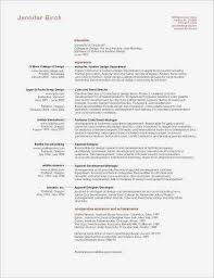 Recent College Graduate Resume Awesome College Grad Resume Fresh
