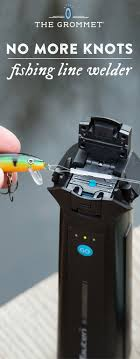 Yield a virtually indestructible fishing knot without actually tying one.  This fishing line welder attaches