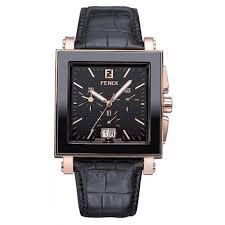 black ceramic square mens watch f654111 fendi black ceramic square mens watch f654111