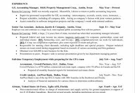 Cpa Candidate Resume Accounting Manager Resume 18 Edi Resume Page