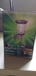 Sencys Solar Lamp Brand Niet Voordemakersnl