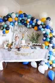 Baby Boy Decoration Ideas Baby Boy 1st Birthday Party 1st Birthday