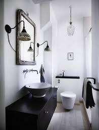 white bathroom decor. Black-and-white-bathroom-decor-600x784 White Bathroom Decor N