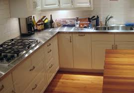 kitchen kitchen countertops at home depot silver rectangle collection in metal kitchen countertops