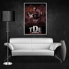 ... TDE Kendrick Lamar, School Boy Q Group Poster