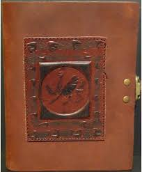 dragon chedron travel journal exclusive handmade leather journals leather journals