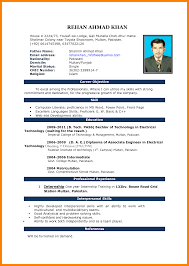 How To Create A Resume For Free 100 free download cv format in ms word actor resumed 84