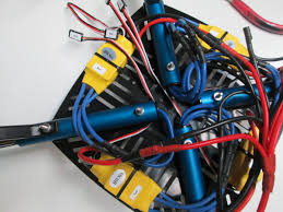 step route esc signal cables through chassis learn parallax com now feed the cable towards the 2 esc keeping it under the wire harness and all the blue wires as shown below