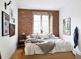 Simple To Decorate Bedroom Simple Apartment Decorating Bedroom Ideas With Great Glass Window