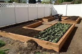 u shaped raised garden bed plans