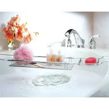 expandable bathtub chrome image any to view in high resolution bath caddy over resources chrome bath caddy