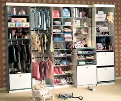 Children's clothing closets require space for shoes, clothes, underwear,  and toys