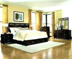 Dark Brown And White Bedroom Ideas Decorating Floor Orange Home ...