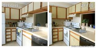 Diy Kitchen Cabinets Makeover How To Redo Kitchen Cabinets In A Rental Asdegypt Decoration