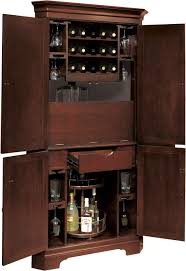 Wine Bar Storage Cabinet Norcross Hide A Bar Cabinet With Four Doors Up To 15 Bottles Of