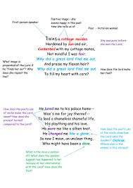 cousin kate scaffolded poem by beccaenglish teaching resources tes