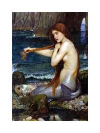 john william waterhouse mermaid old master painting frame