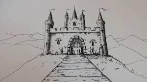 طريقة رسم قلعة صلاح الدين