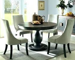 black round pedestal table e round pedestal dining table room oak stunning black small black round