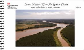 Missouri River Depth Chart Lower Missouri River Navigation Charts Rulo Nebraska To St Louis Missouri February 2014