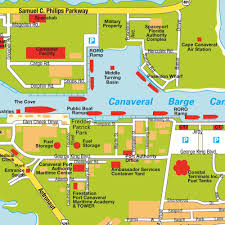 map port canaveral fl florida usa maps and directions at hotmap