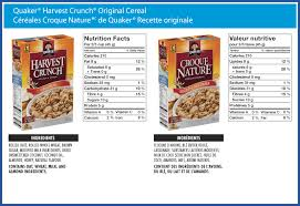 quaker harvest crunch original cereal