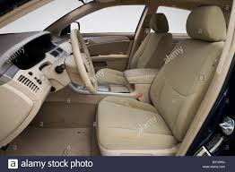 2008 Toyota Avalon XL in Blue - Front seats Stock Photo, Royalty ...