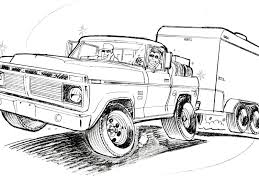 drawn truck lifted drawn truck lifted pencil and in color l on pick up truck coloring pages ford pickup