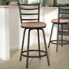 swivel bar chairs. Beautiful Chairs Zipcode Design Deandre Adjustable Height Swivel Bar Stool U0026 Reviews   Wayfair And Chairs W