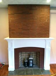 brick fireplace mantel decor mantel deep return red brick fireplace mantel decor