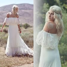 discount 2015 new bohemian wedding dresses casual boho bridal