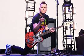 Blink-182's Mark Hoppus 'grateful' after fifth round of chemo