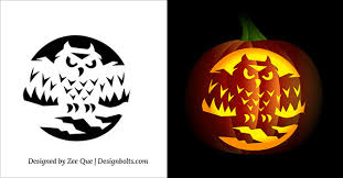 Advanced Pumpkin Carving Patterns Delectable 48 Free Printable Scary Pumpkin Carving Patterns Stencils Ideas 48