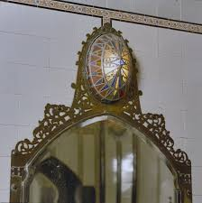 Fileinterieur Badkamer Art Deco Lamp Boven Spiegel Den Dolder
