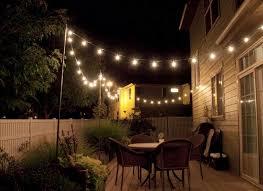 backyard string lights ideas backyard string lighting ideas