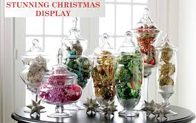 Apothecary Jars Christmas Decorations Stunning Apothecary Jar Christmas Display Decoration Celebrating 2
