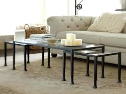 pottery barn tanner coffee table furniture tanner coffee table round tables marvelous tanner nesting side tables