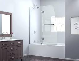 modern glass shower doors tub door frosted glass bathtub door with modern glass shower doors tub
