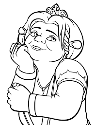 Small Picture shrek and fiona coloring pages 2 shrek coloring pages inspire kids