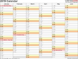 Google Weekly Calendar Template 2019 Calendar 17 Free Printable Word Calendar Templates