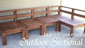 build patio furniture awesome outdoor furniture sectional sofa fascinating how to build outdoor inside outdoor furniture